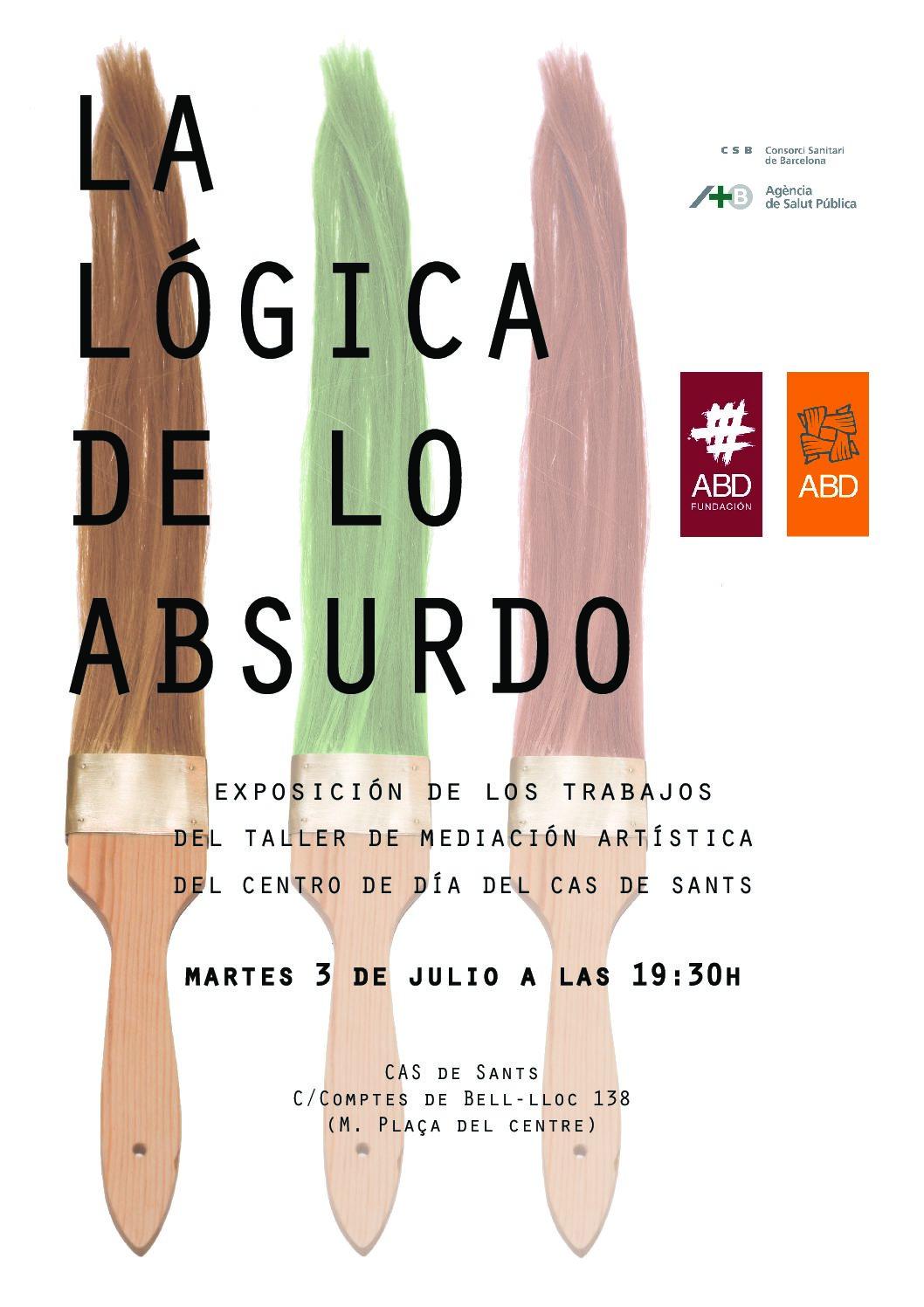 El CAS de Sants organiza una exposición con los trabajos del taller de mediación artística