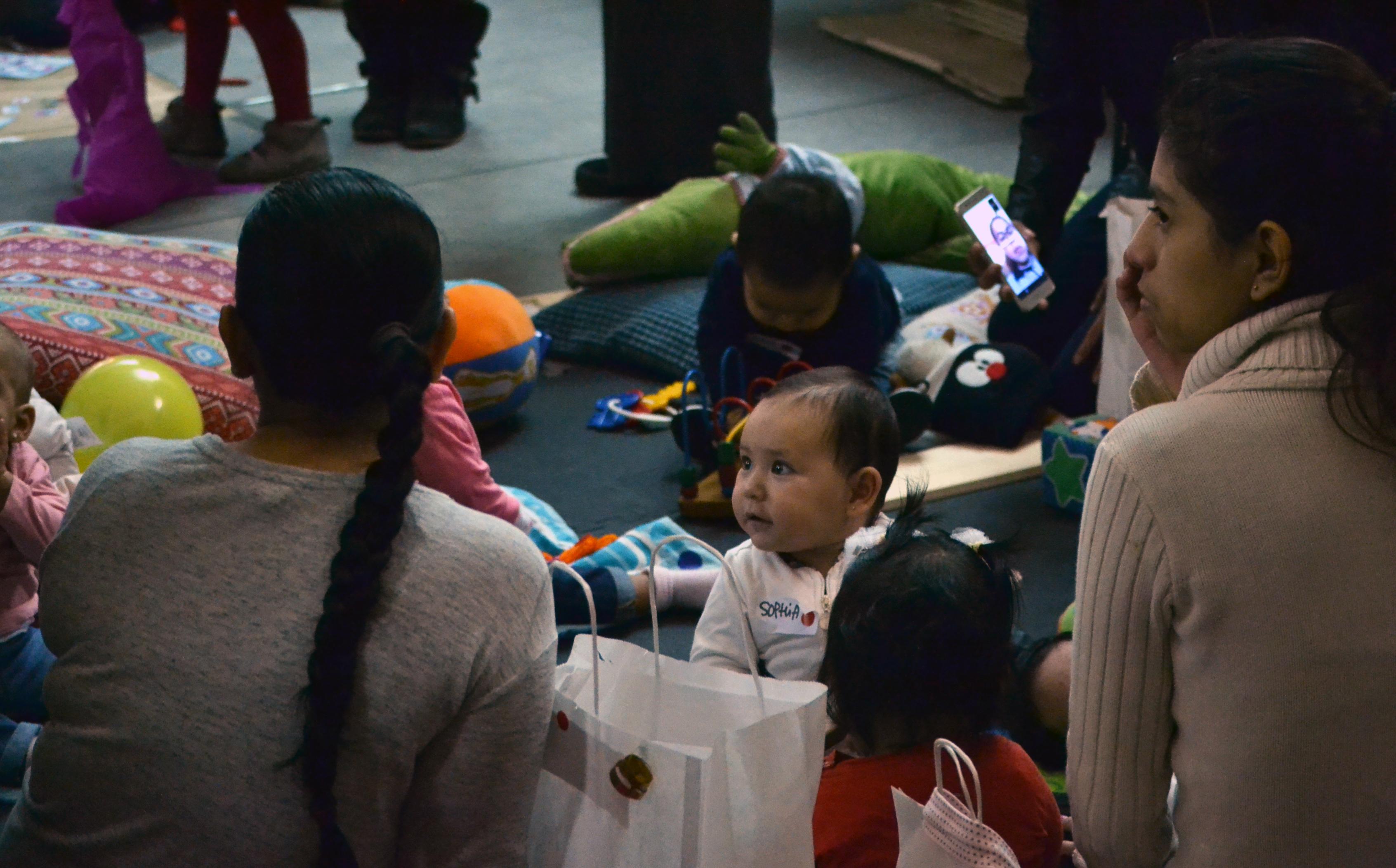 ABD celebra la fiesta de Navidad con diversas actividades para los niños y niñas de personas usuarias