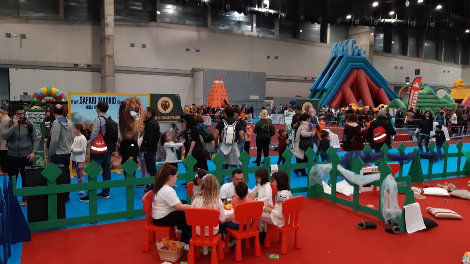 ABD califica de éxito su participación en el Salón de ocio infantil y juvenil de Madrid, Juvenalia