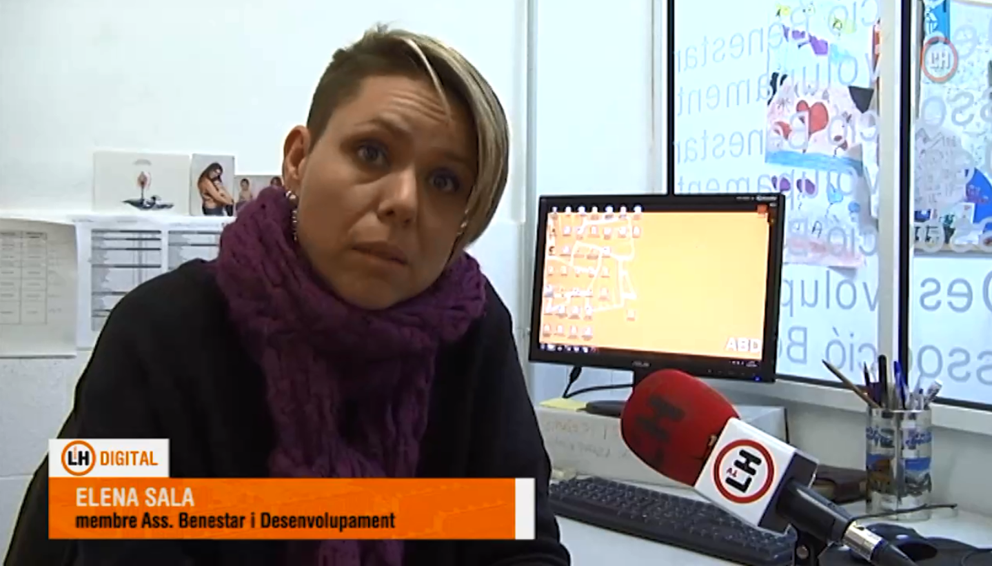 La Televisión de Hospitalet del Llobregat entrevista a Comunidad Activa sobre la subida del precio del alquiler y el derecho a la vivienda