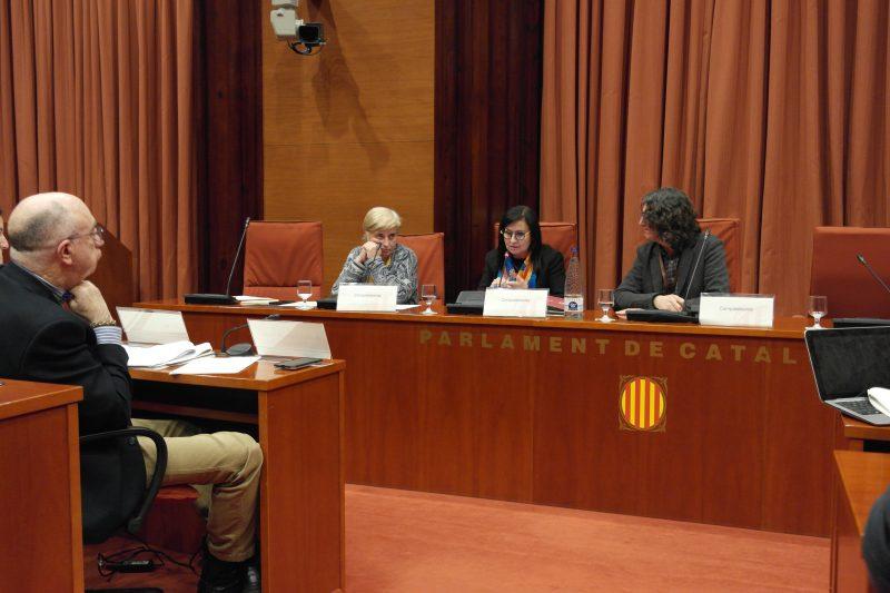"""Àngels Guiteras reivindica al Parlament de Catalunya que els serveis d'atenció a les persones """"preferentment"""" els gestionin entitats """"d'iniciativa social amb reconeguda solvència social, tècnica i econòmica"""""""