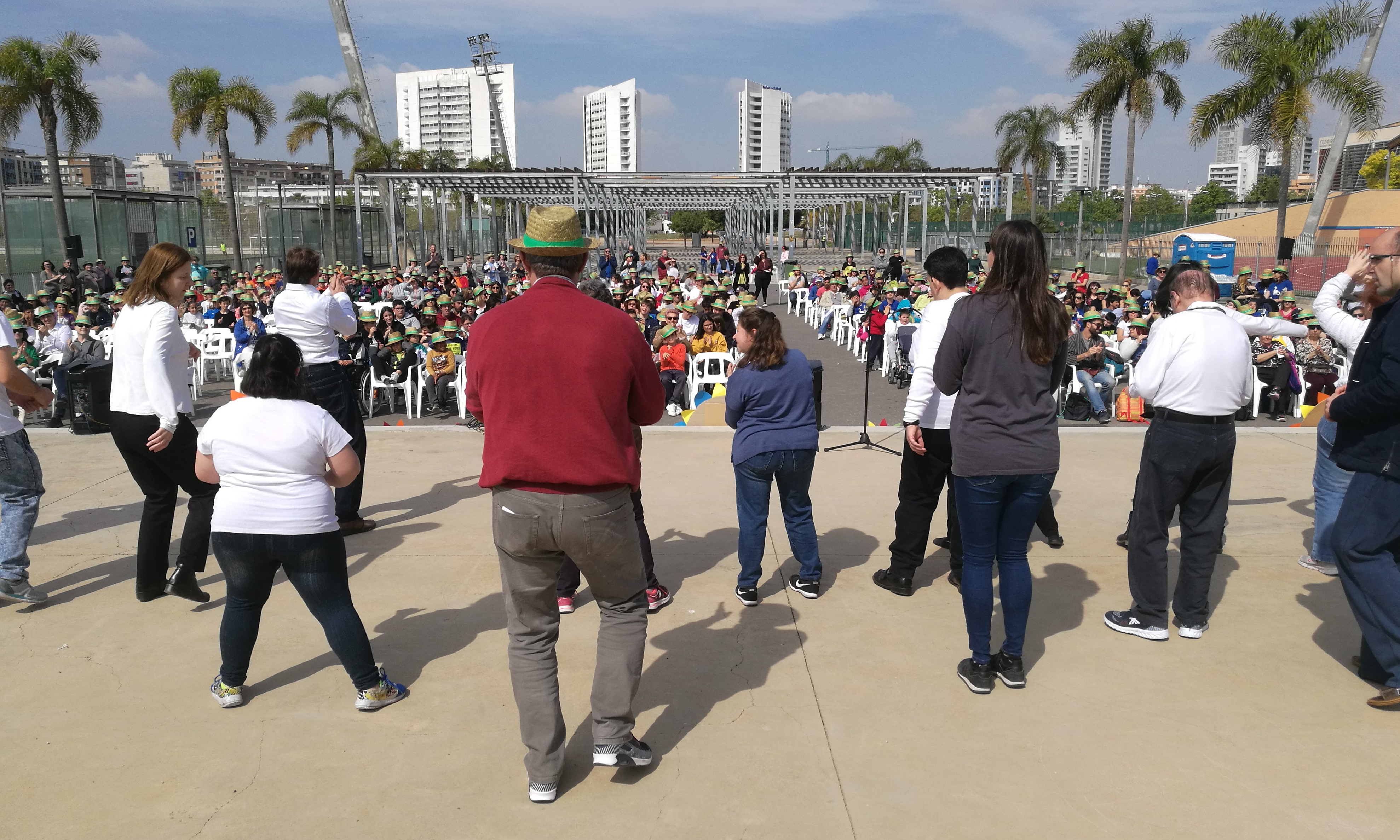 El Centro Ocupacional Habilitare ABD Torrent participa en el VI Festival Primavera, Música y Solidaridad
