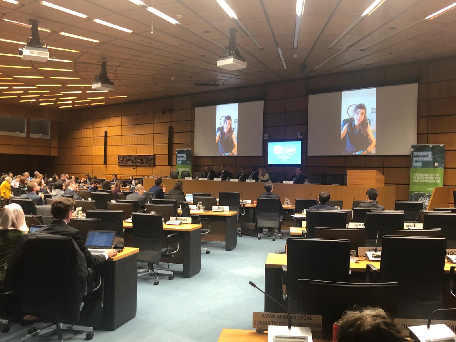 Energy Control – ABD exposa els avantatges dels Serveis d'Anàlisi de Drogues a la Comissió sobre Estupefaents de l'ONU