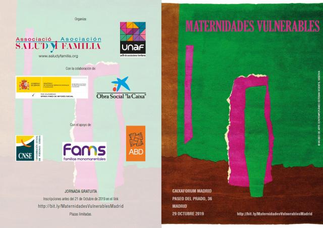 El programa de ABD Preinfant participa en la jornada 'Maternidades Vulnerables', en Madrid