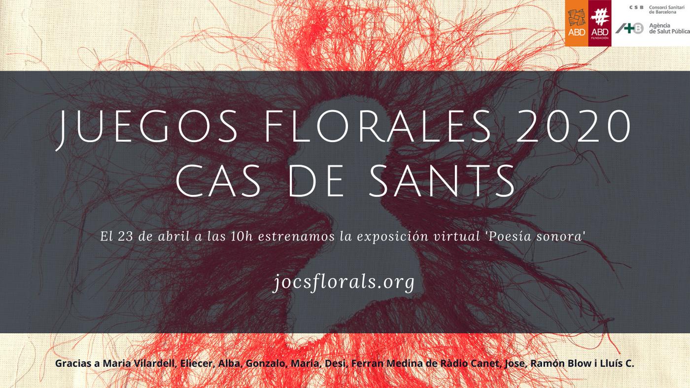 La 26ª edición de los Juegos Florales del CAS de Sants cambia de formato con el estreno de una exposición virtual